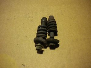 peugeot 205 1.6 1.9 gti exhaust springs and bolts